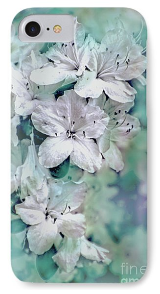 White Azaleas IPhone Case by Sandy Moulder