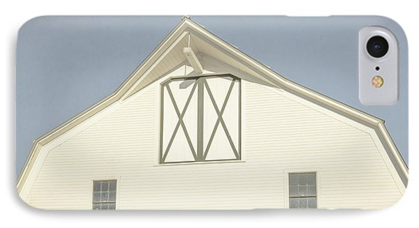 White Barn South Woodstock Vermont IPhone Case by Edward Fielding