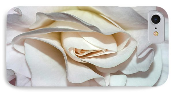 White Begonia IPhone Case