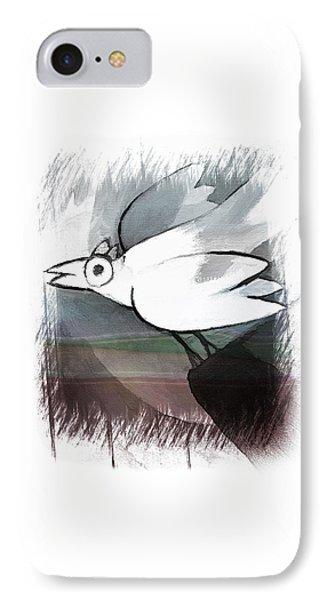 White Bird IPhone Case