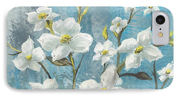 White Bloom Phone Case by Anthony Christou