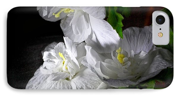 White Blossoms IPhone Case by Robert Och