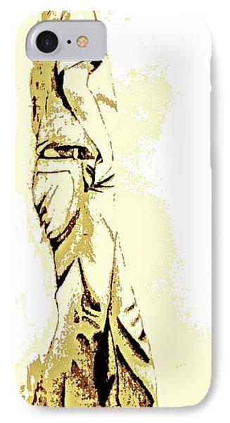 White Boy Standing On Table Phone Case by Sheri Buchheit