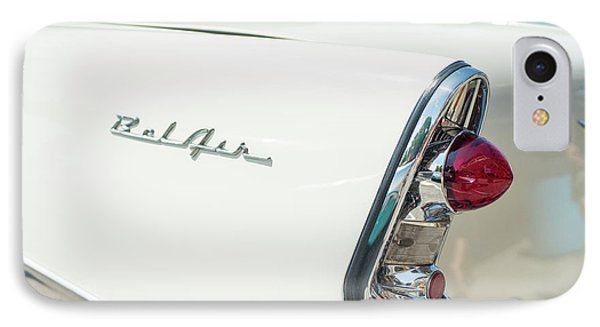 White Chevy Belair Classic IPhone Case