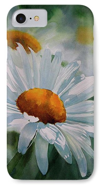 White Daisies IPhone Case by Sharon Freeman
