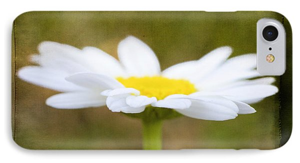 IPhone Case featuring the photograph White Daisy by Eduard Moldoveanu