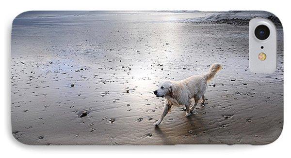 White Dog Phone Case by Svetlana Sewell