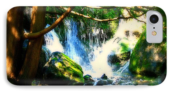 White Falls Phone Case by Perry Webster
