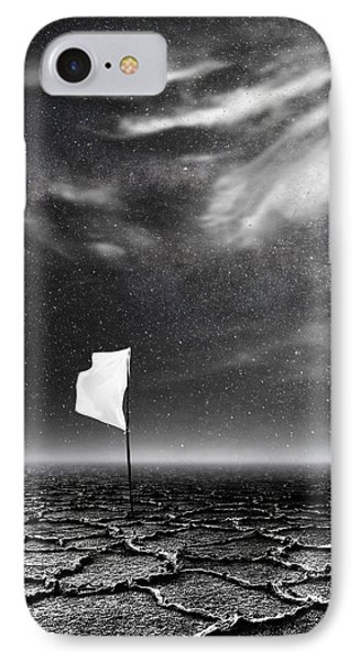White Flag IPhone Case by Jacky Gerritsen