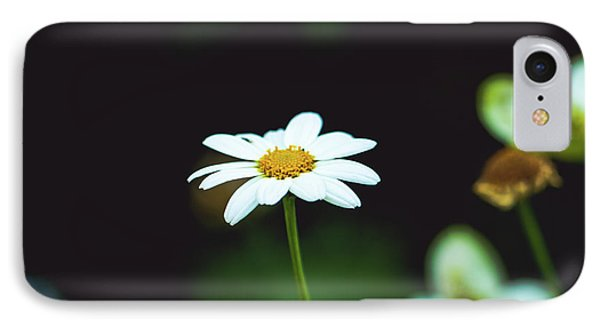 White Flower IPhone Case by Hyuntae Kim
