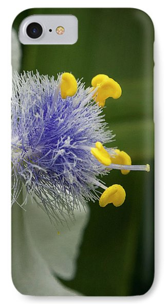 IPhone Case featuring the photograph White Flower by Jean Noren