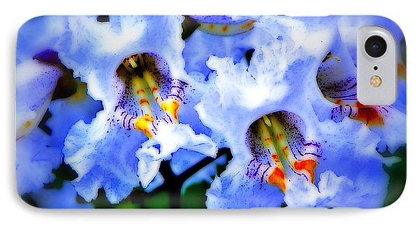 White Flowers IPhone Case by Craig Walters