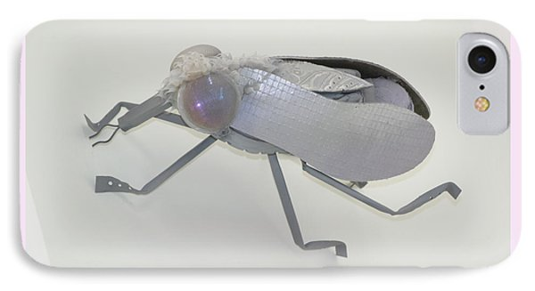 White Fly Phone Case by Michael Jude Russo