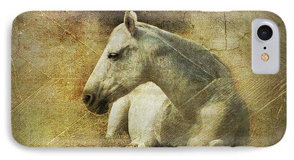 White Horse Art IPhone Case