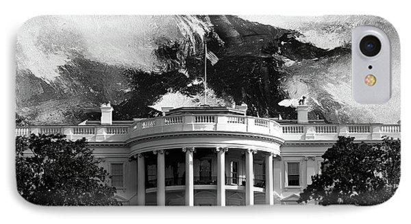 White House 002 IPhone Case by Gull G