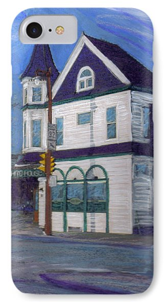 White House Tavern Phone Case by Anita Burgermeister