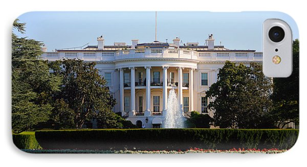 White House IPhone Case by Trevor McGoldrick