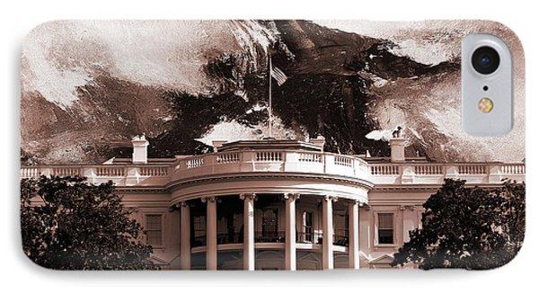 White House Washington Dc IPhone Case by Gull G