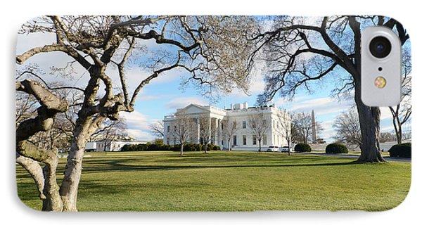 White House, Washington D.c. Usa IPhone Case by Ivan Batinic