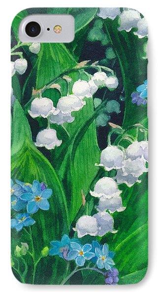 White Lilies Of The Valley IPhone Case by Sergey Lukashin