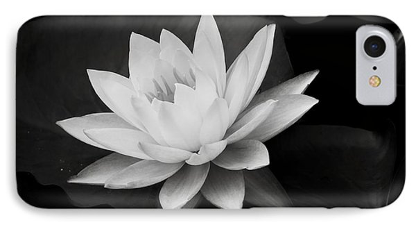 White Lily IPhone Case by James Johnson