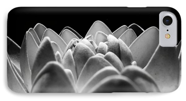 White Lotus In Night IPhone Case by Sumit Mehndiratta