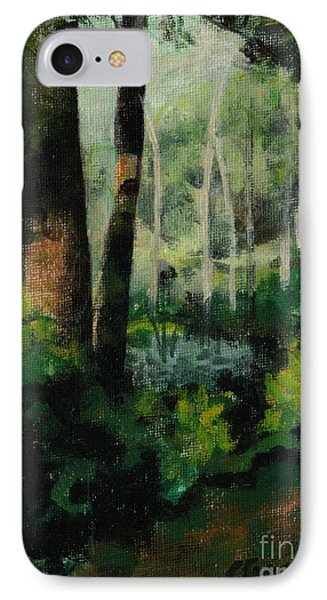 White Mountain Woods IPhone Case