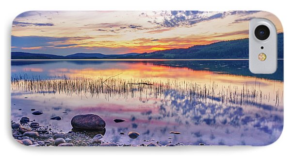 IPhone Case featuring the photograph White Night Sunset On A Swedish Lake by Dmytro Korol