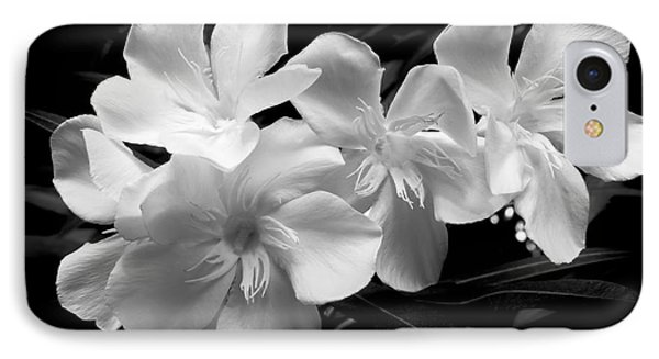 White Oleander IPhone Case by Amar Sheow