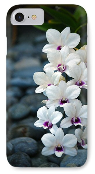 IPhone Case featuring the photograph White Orchids by Debbie Karnes