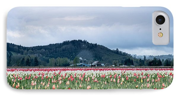 White Pass Highway With Tulips IPhone Case