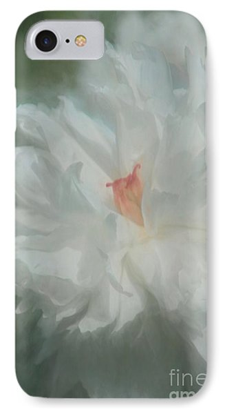 IPhone Case featuring the photograph White Peony by Benanne Stiens