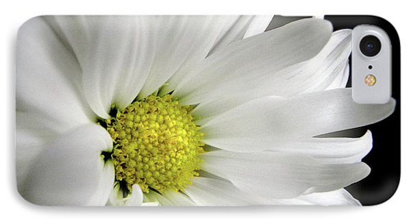 White Petals Phone Case by Julie Palencia