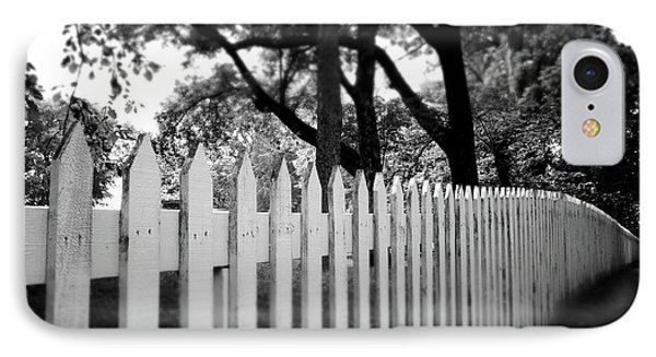 White Picket Fence- By Linda Woods IPhone Case