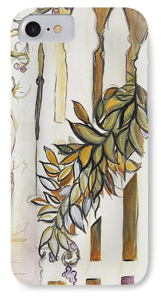 White Pickett Fence Phone Case by Carrie Jackson