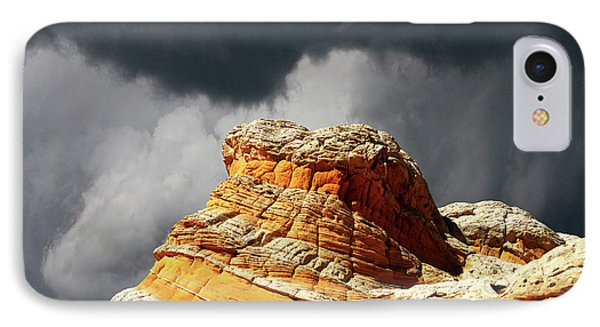 IPhone Case featuring the photograph White Pocket 35 by Bob Christopher