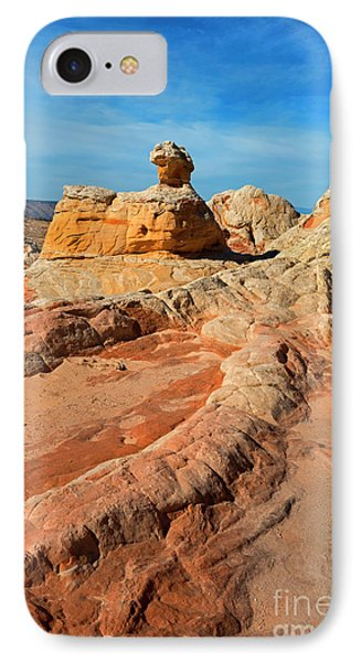 White Pocket Hoodoo IPhone Case by Mike Dawson