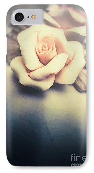 White Porcelain Rose IPhone Case by Jorgo Photography - Wall Art Gallery