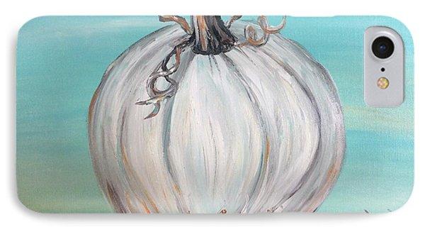 White Pumpkin IPhone Case