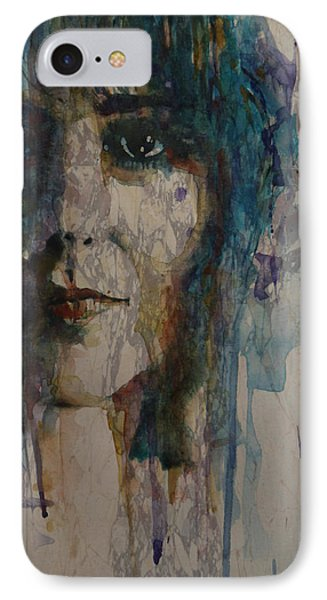 White Rabbit IPhone Case by Paul Lovering