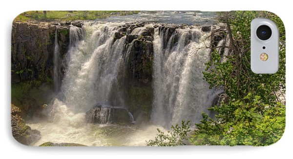 White River Falls Phone Case by Connie Cooper-Edwards