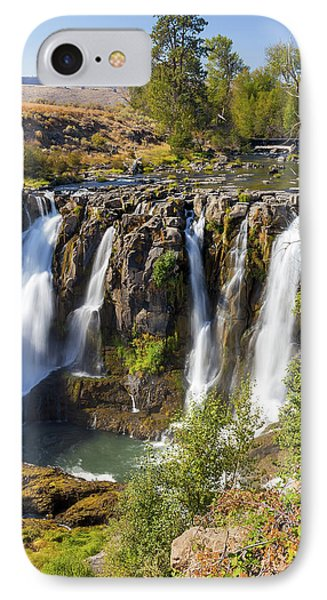 White River Falls In Tygh Valley Phone Case by David Gn