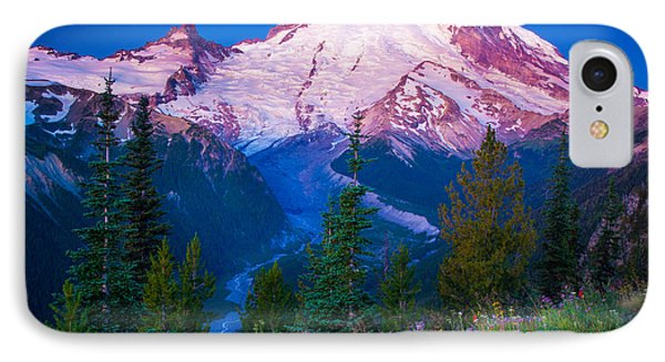 White River Predawn Phone Case by Inge Johnsson