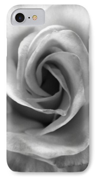 White Rose Phone Case by Beverly Johnson