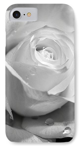 White Rose Phone Case by Brian Roscorla