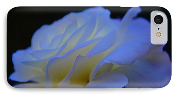 White Rose IPhone Case by Elaine Hunter