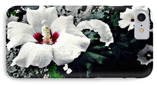 White Rose Mallows 2 IPhone Case