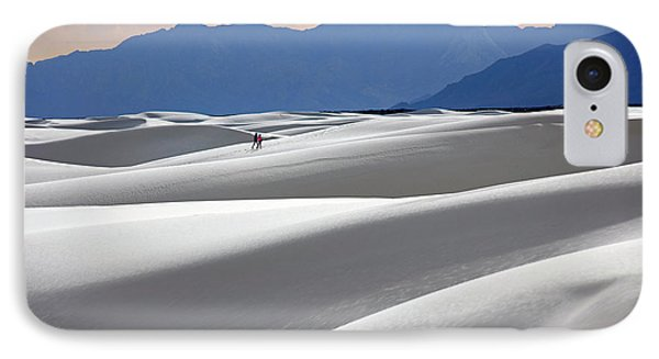 White Sands Hikers IPhone Case