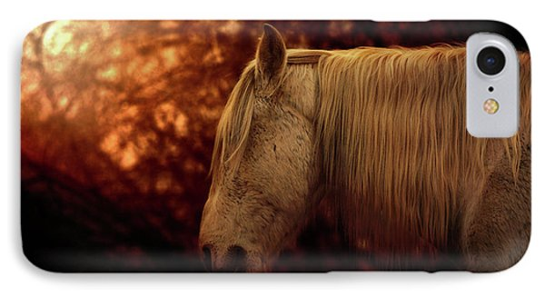 White Stallion IPhone Case