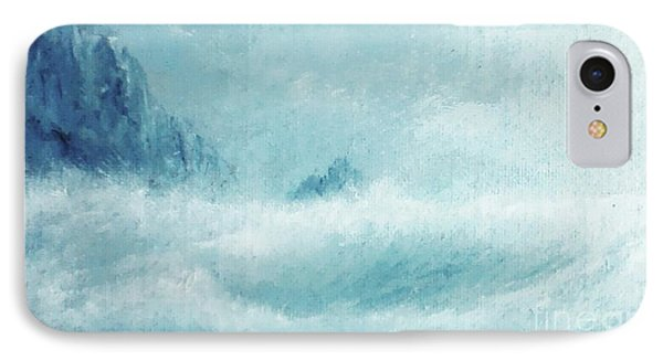 White Storm IPhone Case by Paul Rowe
